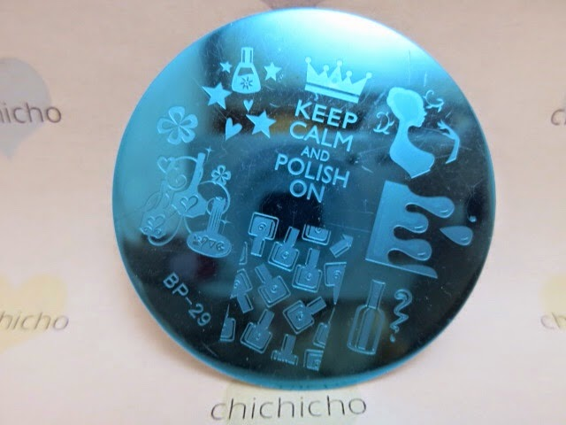 Keep Calm and Polish On BP29 (Born Pretty Store Review)
