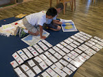 At an age where many adults no very little about geography, isn't it inspiring to see a big project like this? These boys have made their own cards of the maps of many countries.