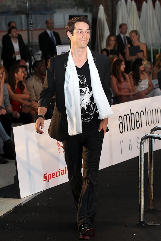 Бруно Сенна на Amber Fashion Show на Гран-при Монако 2012