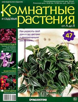 Комнатные и садовые растения от А до Я №47 2014