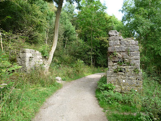 Remains of buildings from a bygone age - Lathkill Dale