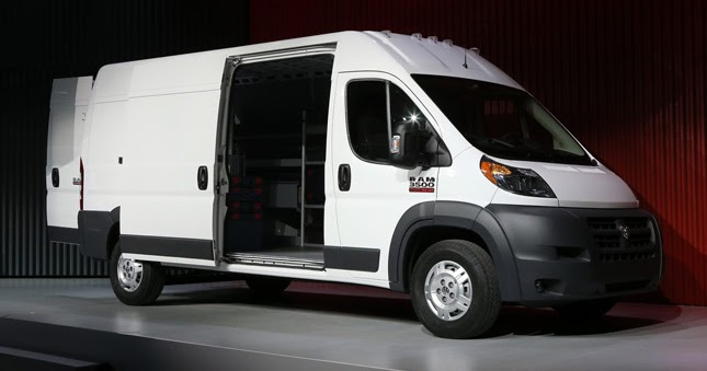 Chrysler Turns Fiat Ducato Into The 2014 Ram Promaster