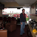 Al and I got to go watch a Cardinals game from a skybox