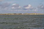 Die Duene bei Helgoland - vom Meer aus gesehen