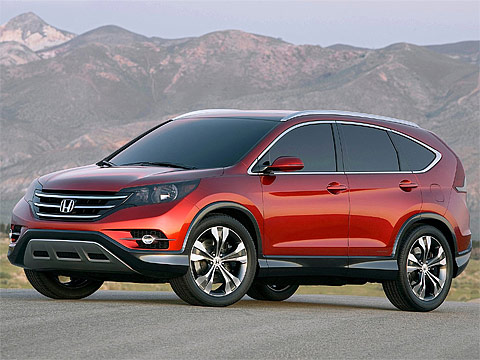 Motor Trend: Japanese car photos 2011 HONDA CR-V Concept