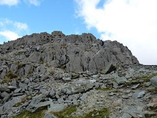 Descending the South Ridge of Tryfan