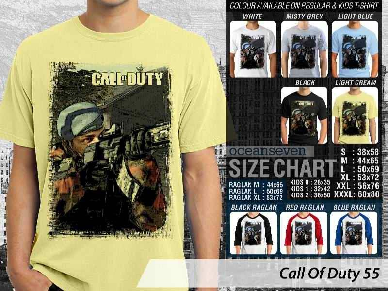 KAOS cod Call Of Duty 55 Game Series distro ocean seven