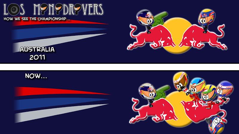 положение в Чемпионате после Гран-при Венгрии 2011 от Los MiniDrivers