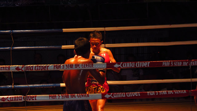 Young Muay Thai boxers.