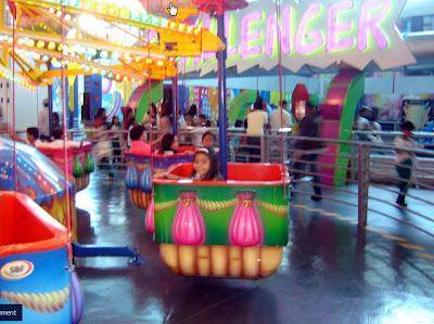Colorful Amusement Ride