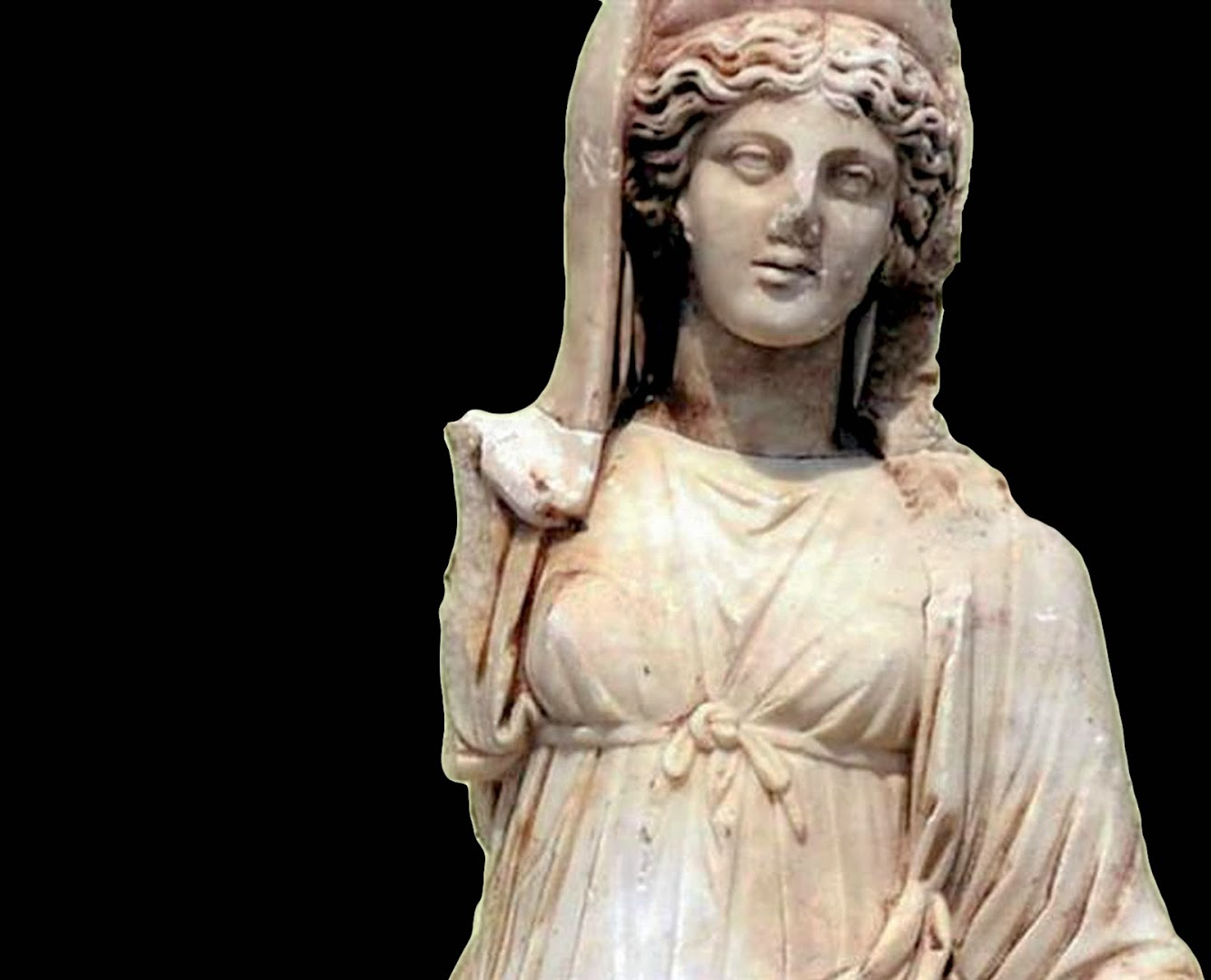 Search to find missing pieces of Greek statue started