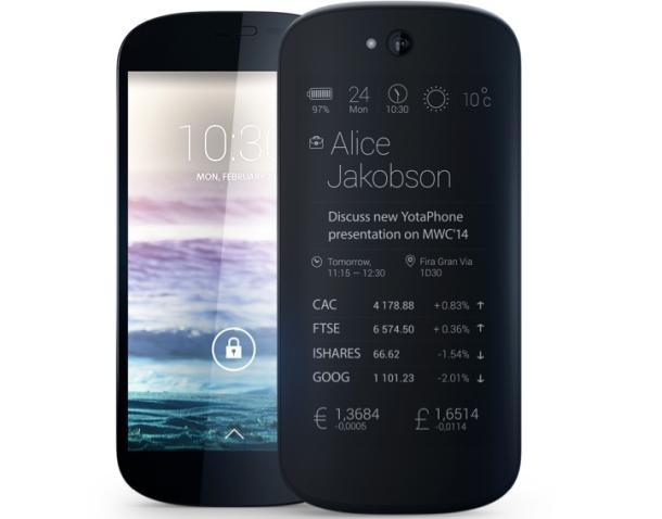 YotaPhone 2 - Spesifikasi Lengkap dan Harga