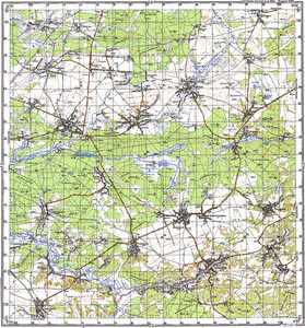Map 100k--m36-006--(1984)