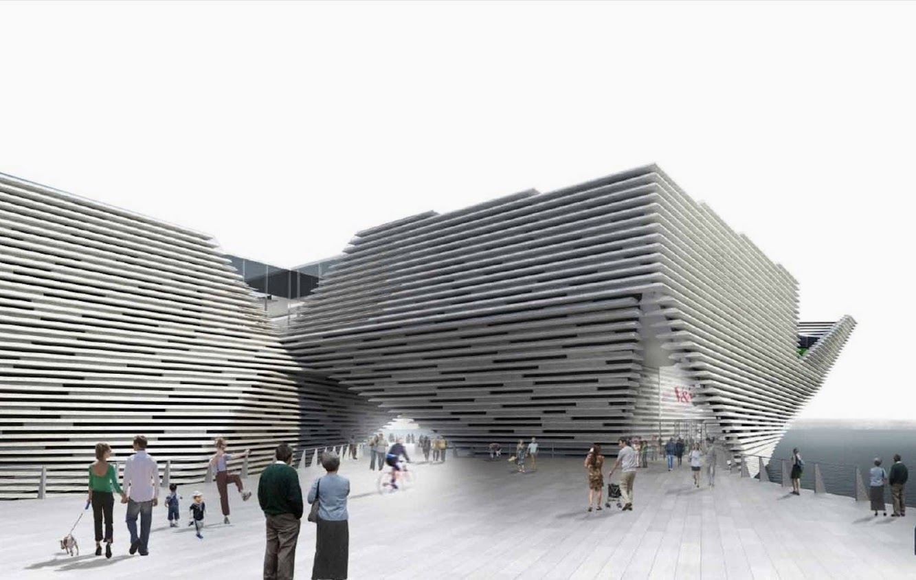 Va Museum by Kengo Kuma read to start