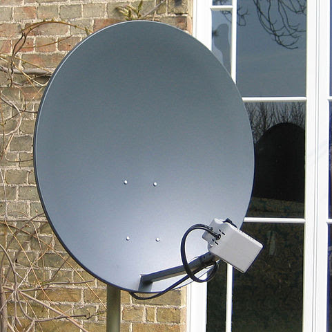 simple satellite dish antenna