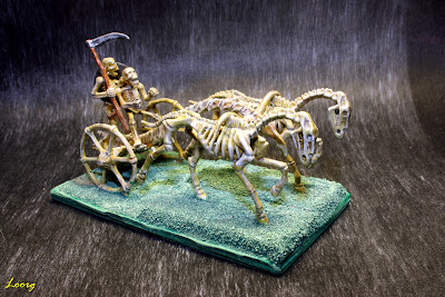 Carro de esqueletos del Skeleton Army