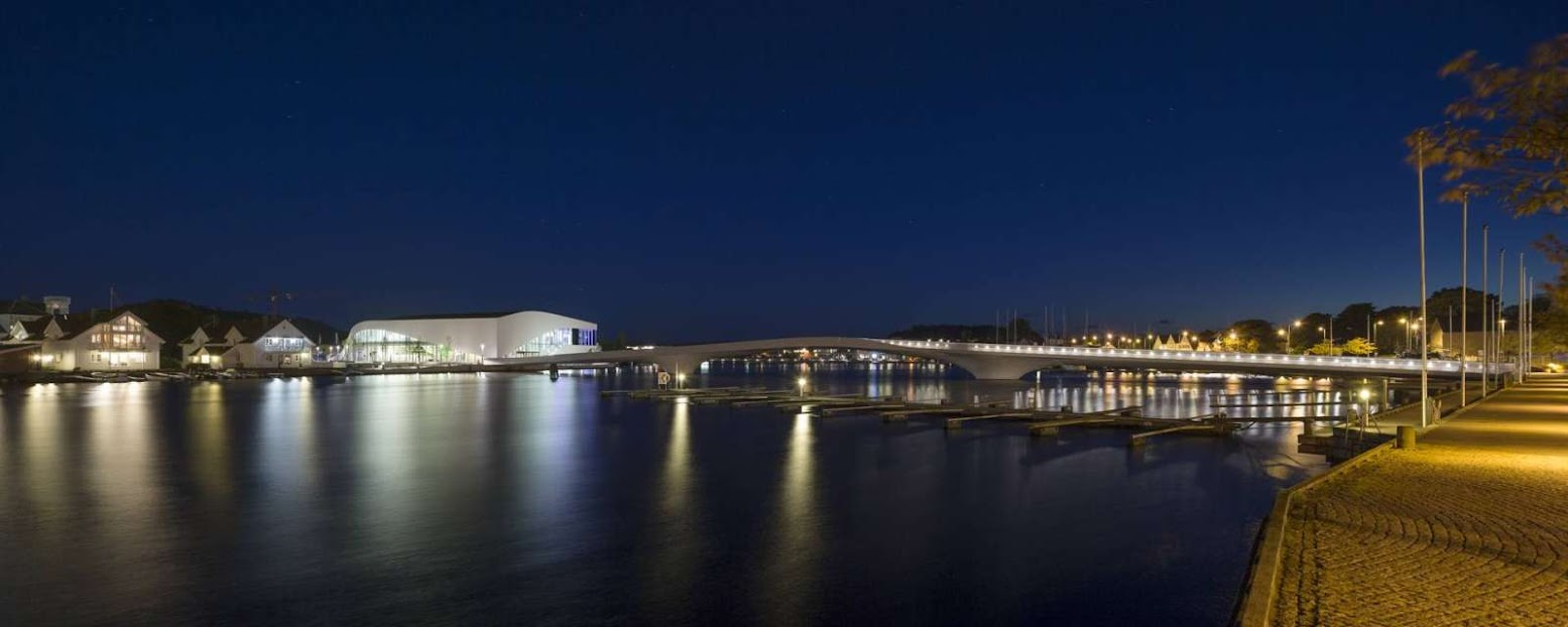 Inaugurated the Bridge Buen Cultural Centre by 3XN
