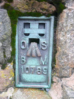 Loadpot Hill Summit Trig Pillar Flush Bracket