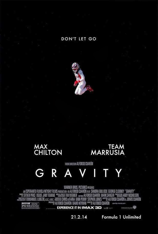 Макс Чилтон - постер Gravity