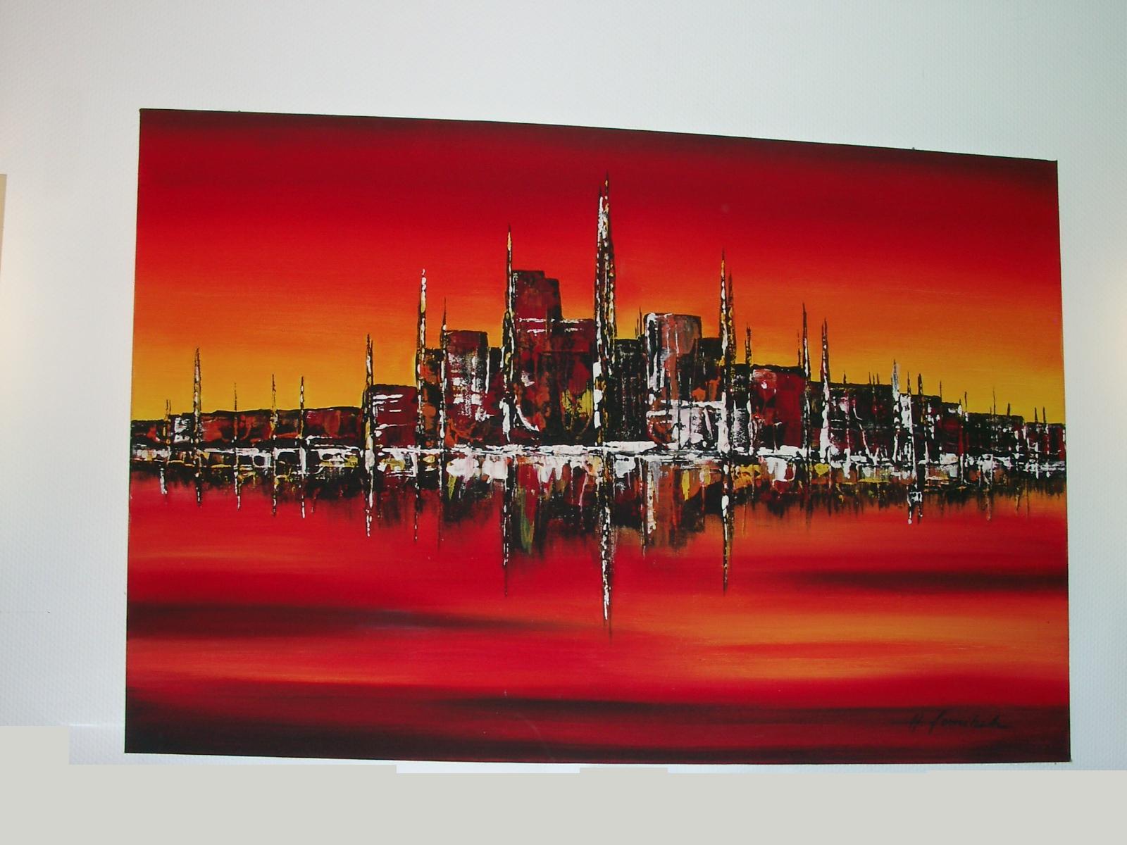 City Colour  Office Kunst Fur Ihr Buro Oder Eine