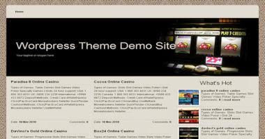 Online Casino Template 986