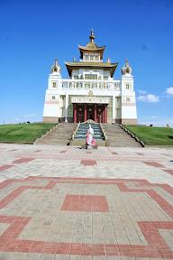 Budistički hram u Elisti