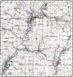 Map 100k--m39-037--(1997)