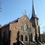 St. Stephen AME Church, built 1880-1886, 501 Red Cross Street