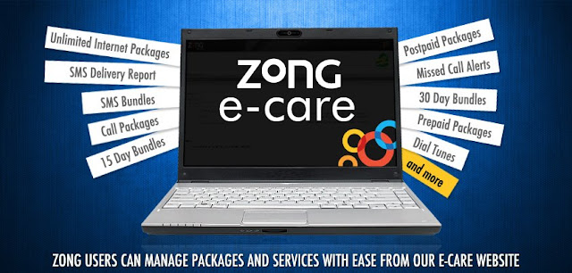 Zong Ecare Website