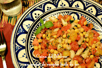 Amanida de cigrons a la marroquina