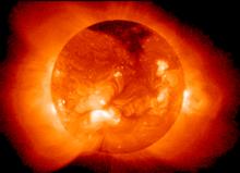 El Sol creando energia de fusion