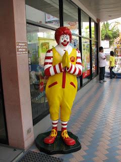 Polite Ronald McDonald