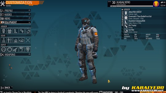 Blacklight Retribution Armor