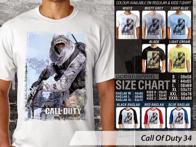 KAOS cod Call Of Duty 34 Game Series distro ocean seven