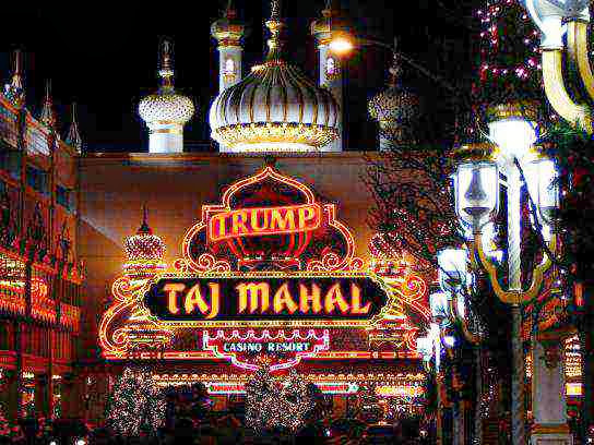 Casino Travel in USA At the Trump Taj Mahal, Atlantic City