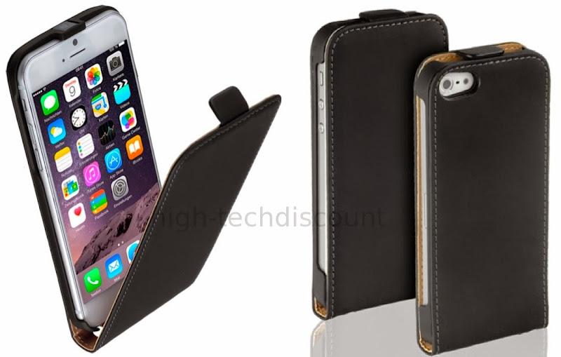 Housse etui coque pochette pu cuir fine pour apple iphone for Housse iphone 7 cuir