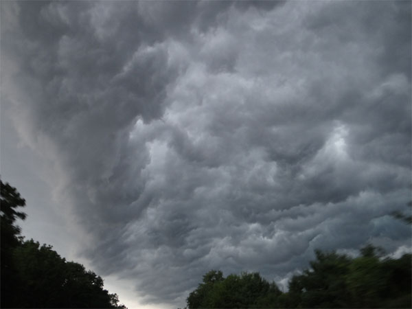 Allentown rain