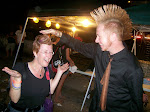 The first ever reverse mohawk touching!