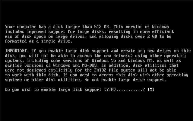 Операционная система ms-dosзагрузочный сектор жесткого диска