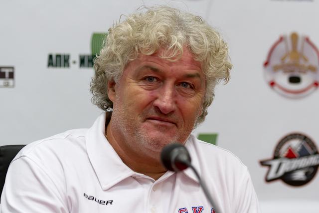 Donbass open cup 2012 Открытый кубок Донбасса по хоккею Милош Ржига главный тренер СКА