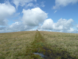 Nearing Brae Fell Summit