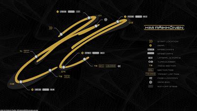 гоночный трек в виде автографа Кими Райкконена by Finsternis483