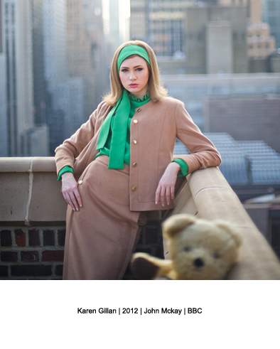 David Bailey | We'll take Manhattan | Karen Gillan | designer fashion blog |  Warmenhoven &amp; Venderbos