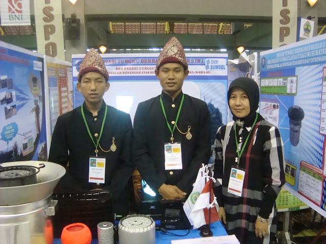 Siswa SMAN Gaul Raih Beasiswa Turki dalam Kompetisi  Indonesian Sains Project Olimpiad (ISPO) di Jakarta