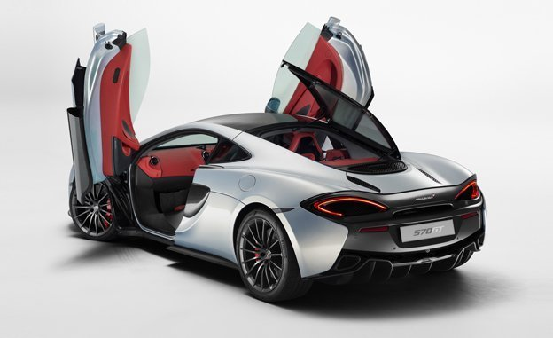 2017 McLaren 570GT Revealed Release Date Redesign Exterior and Interior Car Review Specs