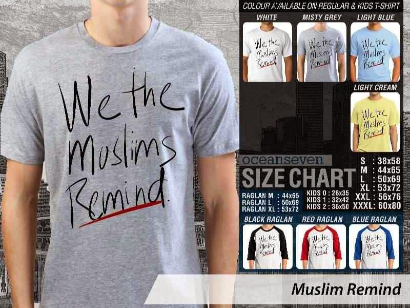 KAOS Muslim Islam Muslim Remind distro ocean seven