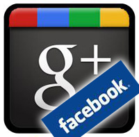 Facebook stream update in Google plus