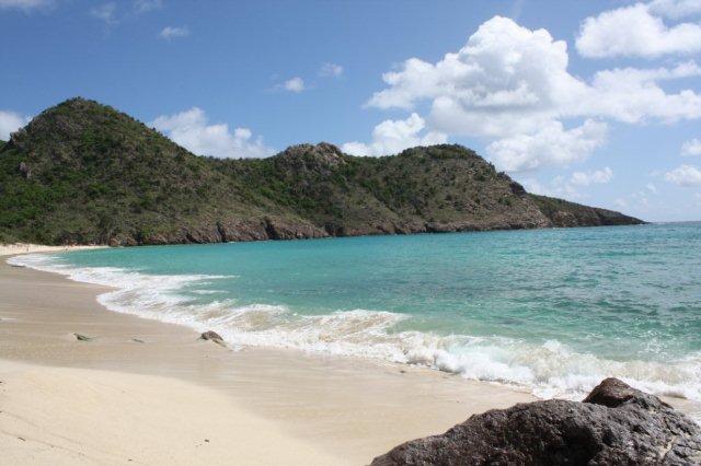 Playa Gouverneur en San Bartolome St Barts