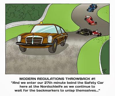 гонки возвращаются в прошлое - комикс Stuart Taylor по Гран-при Кореи 2013