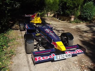 самодельный болид Red Bull от Russ Bost